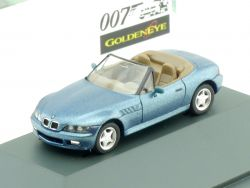 Herpa 80419421163 BMW Z3 E36/7 James Bond 007 Goldeneye OVP