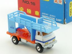 Bandai No.16  Airport Series Inspection Car KLM diecast MIB OVP