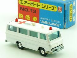 Bandai No.13 Airport Series Ambulance Krankenwagen MIB OVP SG