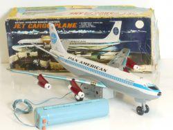 Marx J-9587 Toys Boeing Pan Am American Flugzeug Blech elektrisch OVP