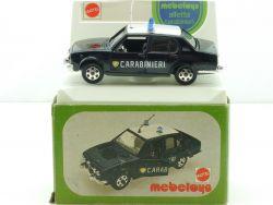 Mebetoys A 82 Mattel Alfa Romeo Alfetta Carabinieri 1:43 rare box OVP