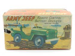 Linemar Toys Marx NUR Originalkarton Army Jeep empty tin toy box OVP