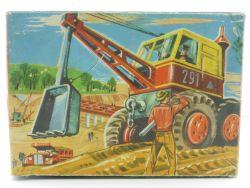 Wamoo France Jouets NUR Originalkarton Löffelbagger Blechspielzeug