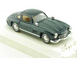 Solido 4502 MB Mercedes Benz 300 SL dunkelblau MIB 1/43 OVP