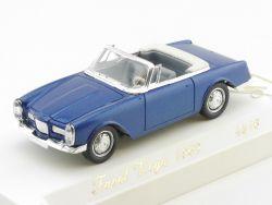 Solido 4516 Facel Vega 1962 blau-metallic Cabrio Modellauto 1:43 OVP