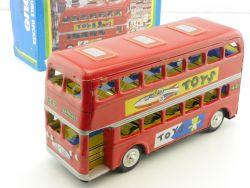 MF 844 Double Decker Bus Doppeldecker Blechspielzeug China OVP ST