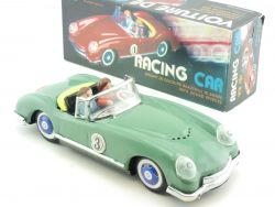 MF 763 Racing Car graugrün No. 3 Friktion Sound Effects China OVP SG