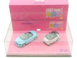 Minichamps 402173900 Legally blonde 2 Audi TT Smart Cabriolet OVP SG