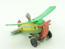 Schopper 546 Überschlag-Flugzeug Artist Uhrwerk Funktion geprüft SG