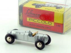 Schuco 01361 Piccolo Auto Union Typ C Fehldruck selten 1:90 OVP