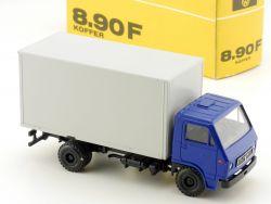 Conrad MAN 8.90 F Koffer-LKW selten Werbemodell 1:50 OVP SG