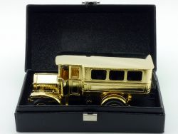 Ziss MAN Werbemodell Erster Diesel Omnibus gold Bus 1:50 OVP