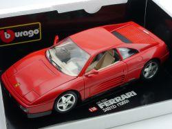 Bburago Burago 3039 Ferrari 348 tb rot 1989 1/18 Diecast OVP