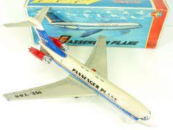 Me 789 Passenger Plane Blech-Flugzeug Jet Airliner Tin China alt OVP