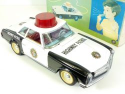Modern Toys 230 SL Sonicon Mercedes Highway Patrol Pagode Japan OVP