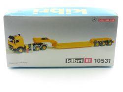 Kibri 10531 MB Mercedes Zugmaschine Satteltieflader Bausatz OVP