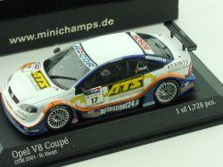Minichamps 400 014817 Opel V8 Coupe DTM 2001 H.Haupt 1/43 OVP