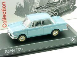 Minichamps 8042941992 BMW 700 1959-1965 hellblau 1/43 OVP