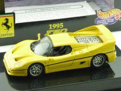 Mattel Hot Wheels 22179 Ferrari F50 1995 gelb Modellauto 1:43 OVP