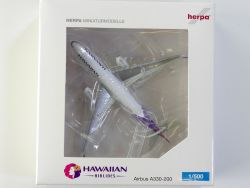 Herpa 519137 Airbus A330-200 N380HA Hawaiian Airlines selten OVP