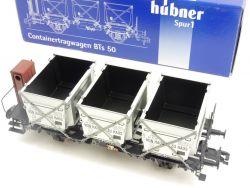 Hübner 2050 Containertragwagen BTs 50 von Haus zu Haus SW 1  OVP MW