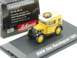 Schuco PMS 88-10 BMW Dixi Dt. Reichspost Post Museums Shop OVP