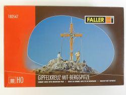 Faller 180547 Gipfelkreuz mit Bergspitze Bausatz Kit H0 OVP