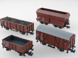 Minitrix 91051 und 15046 Güterwagenset DR und O 011 DRG