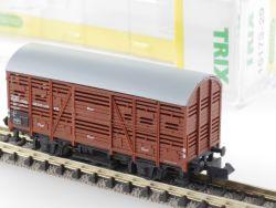 Minitrix 51 3525 00 Viehwagen Verschlagwagen V 33 DB EVP