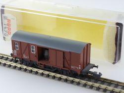 Minitrix 13500 Gedeckter Güterwagen Pwghs 054 DB beladen OVP