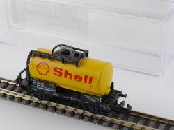 Minitrix 13541 Kesselwagen Tankwagen Shell DB EVP Top!