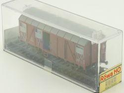 Röwa 2042 Gedeckter Güterwagen DB H0 NEU MIB versiegelte OVP ST