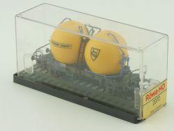 Röwa 2070 Behälterwagen Silowagen Schwenk Zement versiegelte OVP