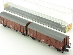 Röwa 2038 Leig Einheit DB Gllmehs Stückgutwagen TOP! OVP