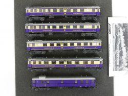 Liliput 821 822 824 825 5x Rheingold Wagen DRG 4x OVP
