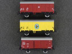 Märklin 3x gedeckte Güterwagen Ecuador DB 4629 4414 4410  OVP
