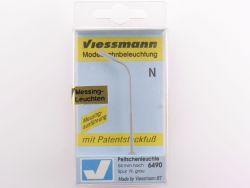 Viessmann 6490 Messing Peitschenleuchte 54 mm Spur N NEU! OVP ST