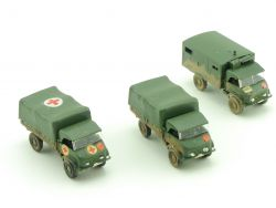 Roskopf RMM MB Unimog Sanitäter Bundeswehr Konvolut