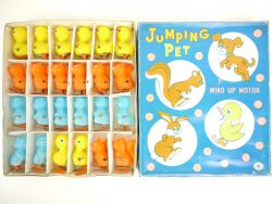 Modern Toys 3324 MT Jumping Pet Wind Up Japan Händlerkarton OVP