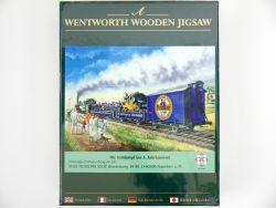 PMS 33-04 Wentworth Wooden Jigsaw Puzzle Post Eisenbahn OVP