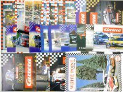 Carrera Rennbahn Prospekte Kataloge Literatur gr. Paket