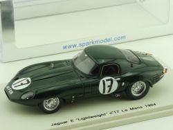 Spark S2108 Jaguar E Lightweight Le Mans 64 Lumsden Sargent OVP