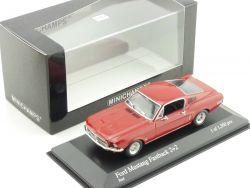 Minichamps 400082024 Ford Mustang Fastback 2+2 1968 1:43 NEU OVP