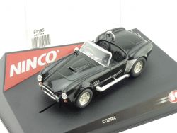 Ninco RT1953 AC Cobra Schwarz Slotcar 1/32 Reprotec OVP