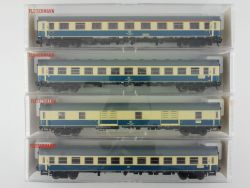 Fleischmann 4x IC InterCity-Wagen 5190 5191 5192 Top! OVP ME
