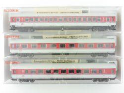 Fleischmann 3x IC/EC Großraumwagen 5181 5184 5185 K KKK NEU OVP ME