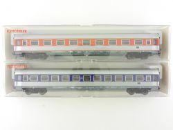 Fleischmann 2x Schnellzugwagen 5183 5184 DB Popwagen NEU OVP ME