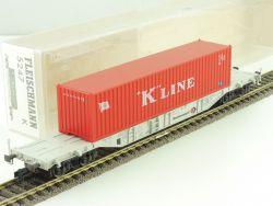 Fleischmann 5247 K Kombiwaggon Container K Line DB NEU OVP ST ME