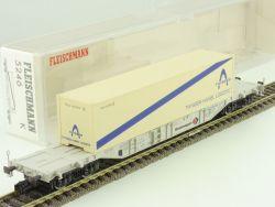 Fleischmann 5246 K Containertragwagen Thyssen Haniel DB NEU OVP ST ME