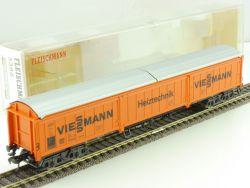 Fleischmann 5386 Schiebewandwagen Heiztechnik Viessmann DB OVP OVP ME